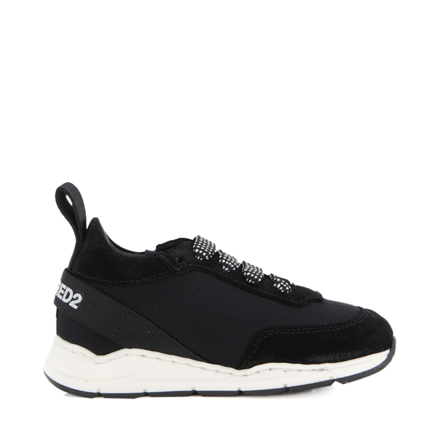 Picture of Dsquared2 65004 kids sneakers black