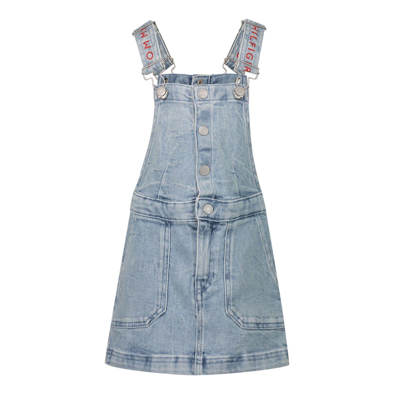 Picture of Tommy Hilfiger KG0KG05807B baby dress jeans