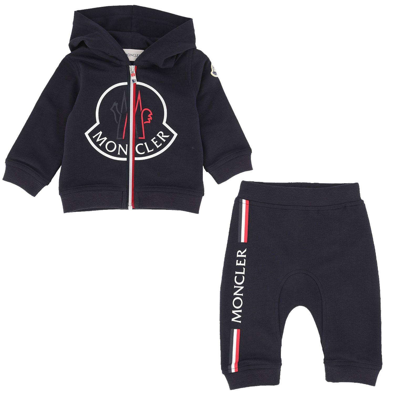 Afbeelding van Moncler 8M73600 baby joggingpak navy