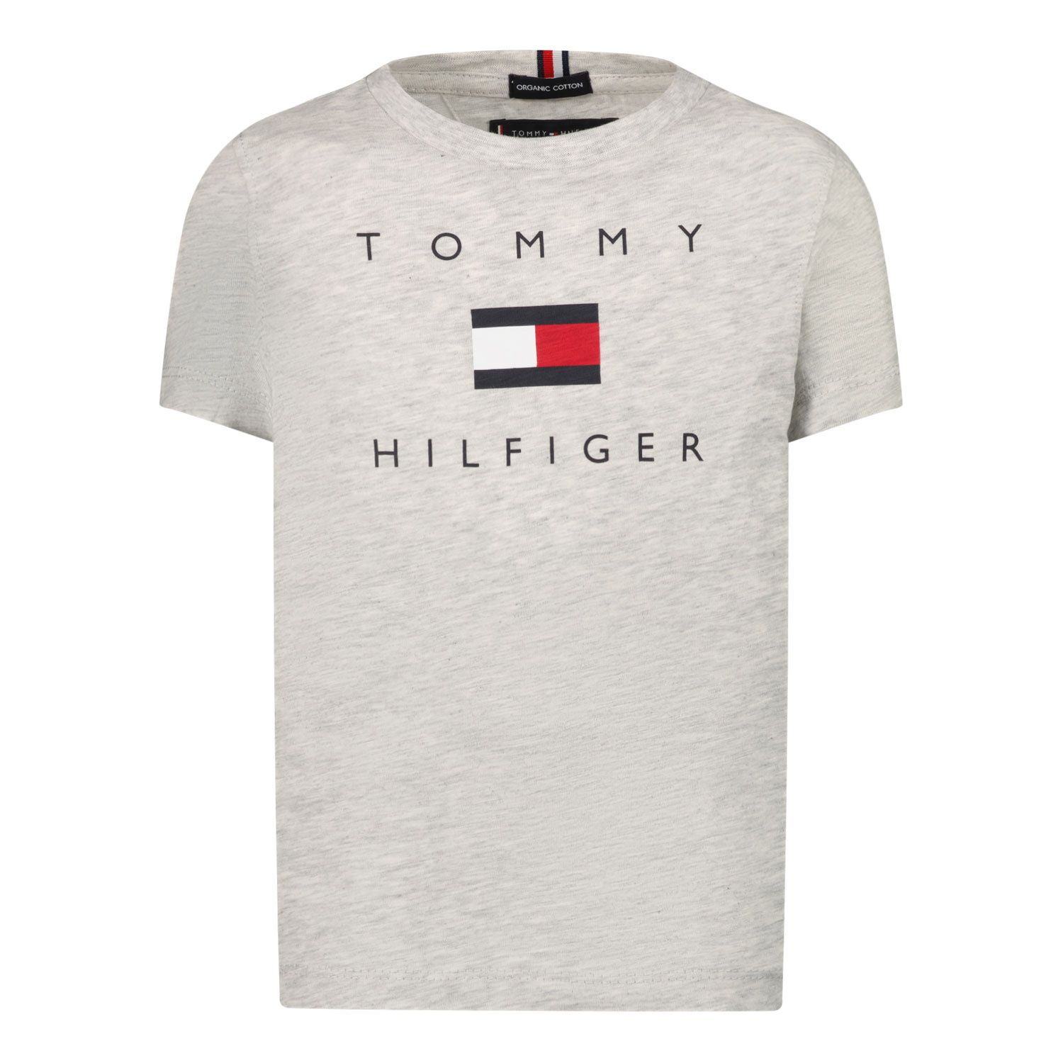 Picture of Tommy Hilfiger KB0KB06523 B baby shirt grey