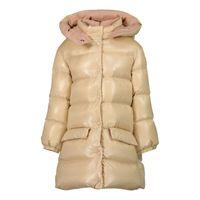 Picture of Moncler 1C51310 baby coat beige