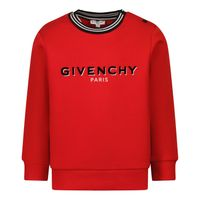 Picture of Givenchy H05187 baby sweater red