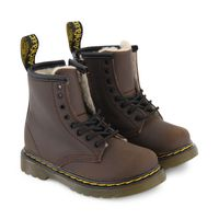 Picture of Dr. Martens 25181201 kids boots brown