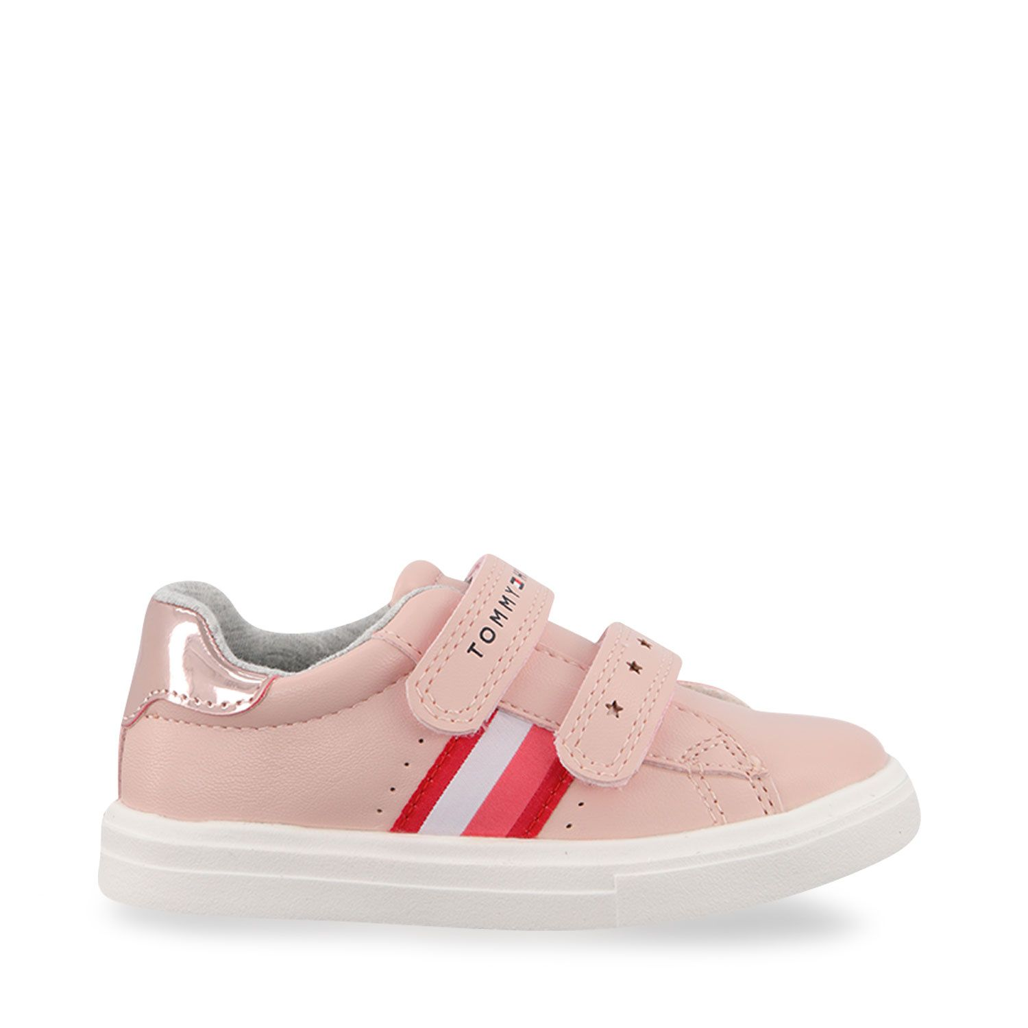 Picture of Tommy Hilfiger 31012 kids sneakers light pink