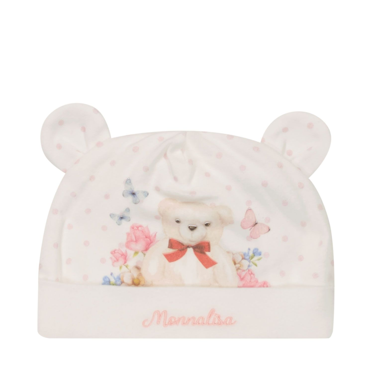 Picture of MonnaLisa 358013PF baby hat white