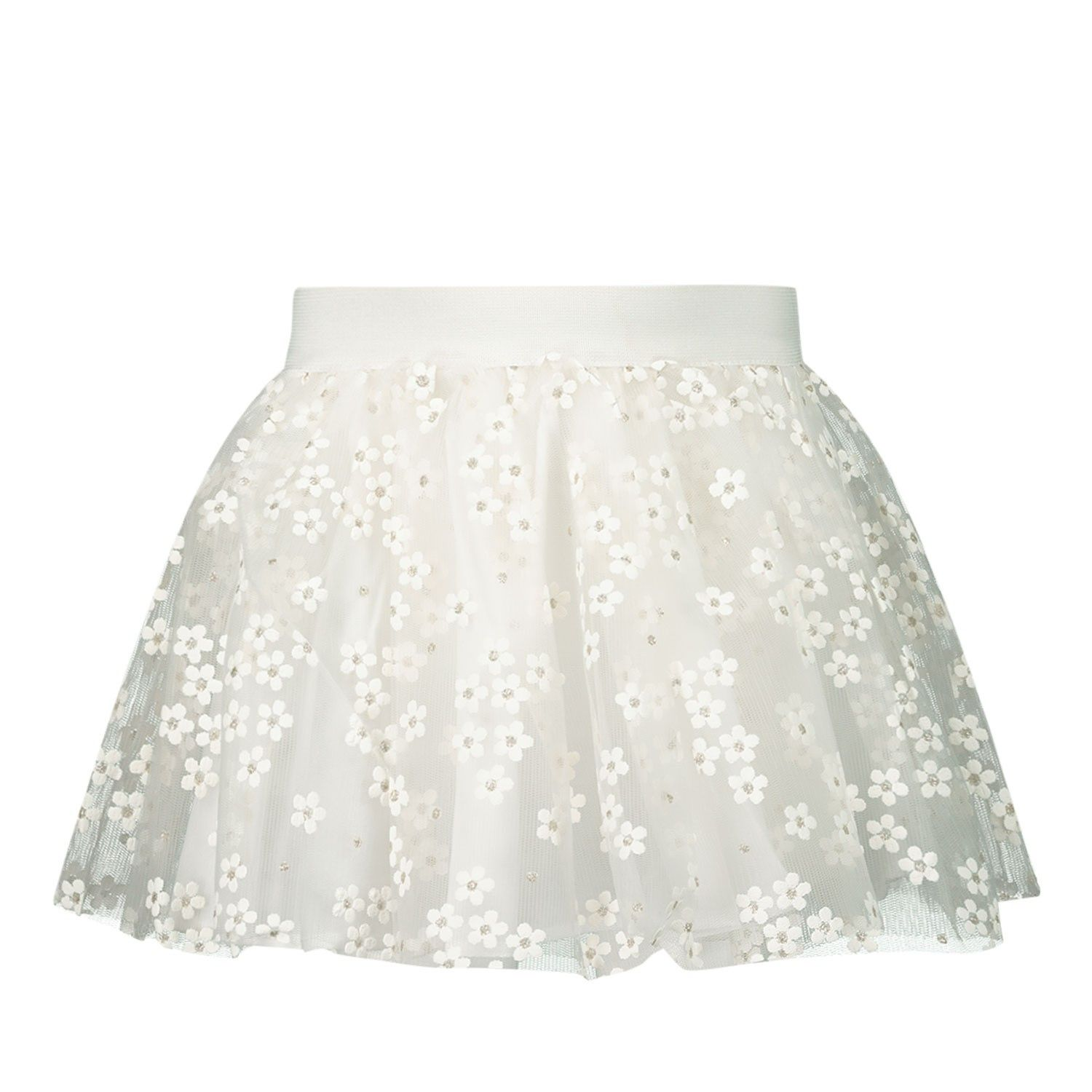Picture of Mayoral 3901 kids skirt off white