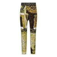 Picture of Versace 1000361 1A00270 baby legging gold