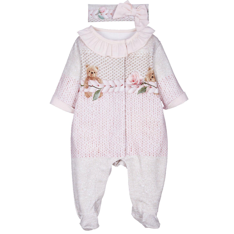 Bild von Lapin 212E5176 Babystrampelanzug Hellrosa