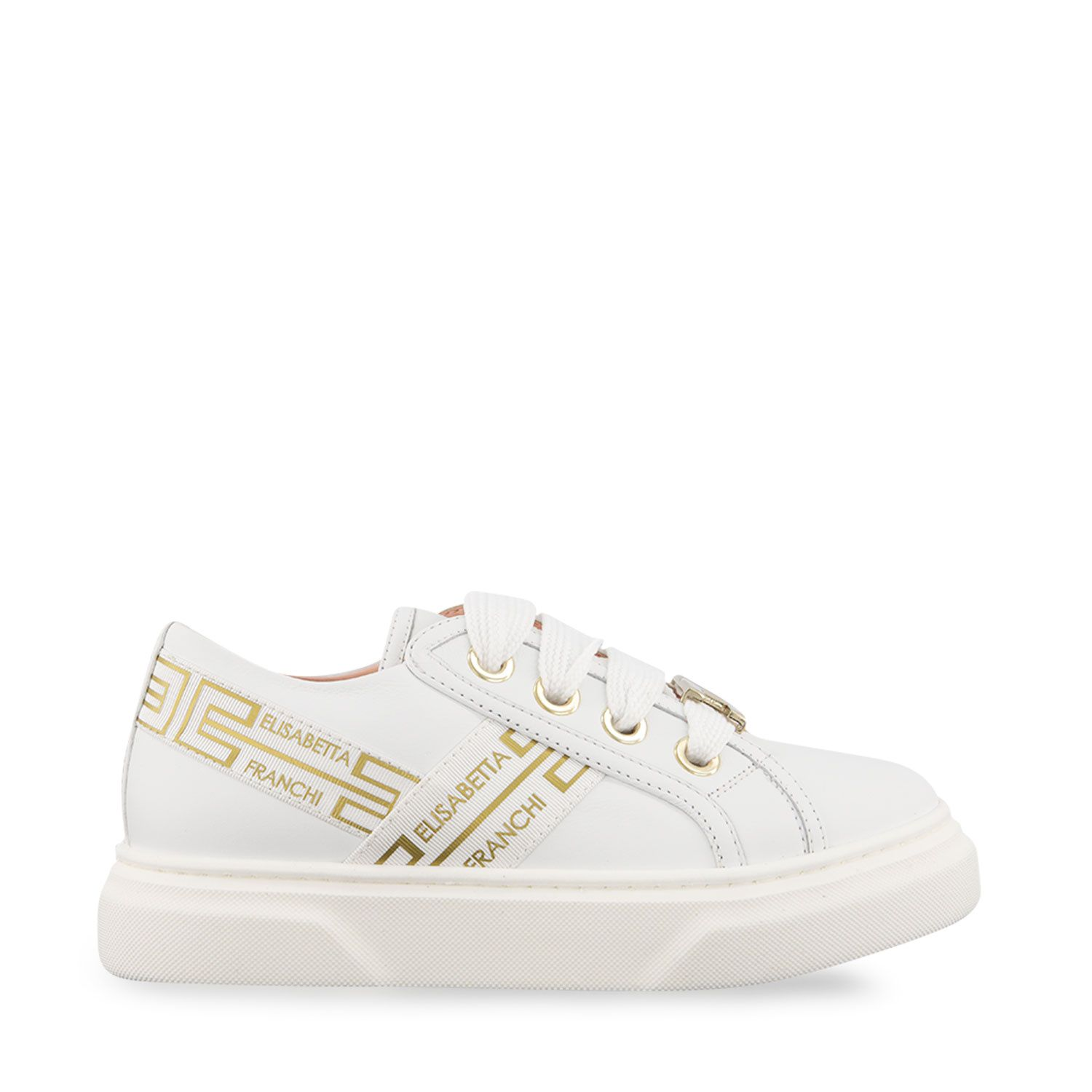 Picture of Elisabetta Franchi 68146 kids sneakers white