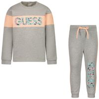 Picture of Guess A1BG14 B baby sweatsuit grey