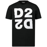 Picture of Dsquared2 DQ03WI kids t-shirt black