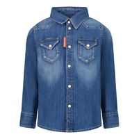 Picture of Dsquared2 DQ033G baby blouse jeans