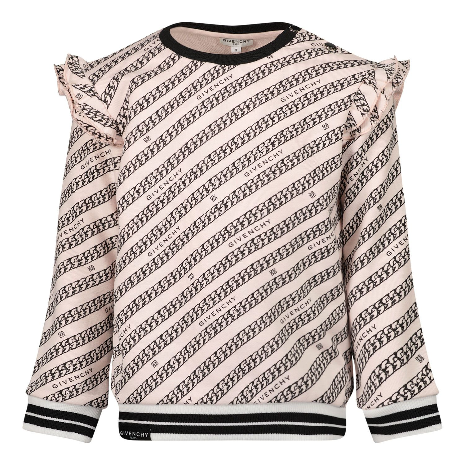 Picture of Givenchy H05179 baby sweater light pink