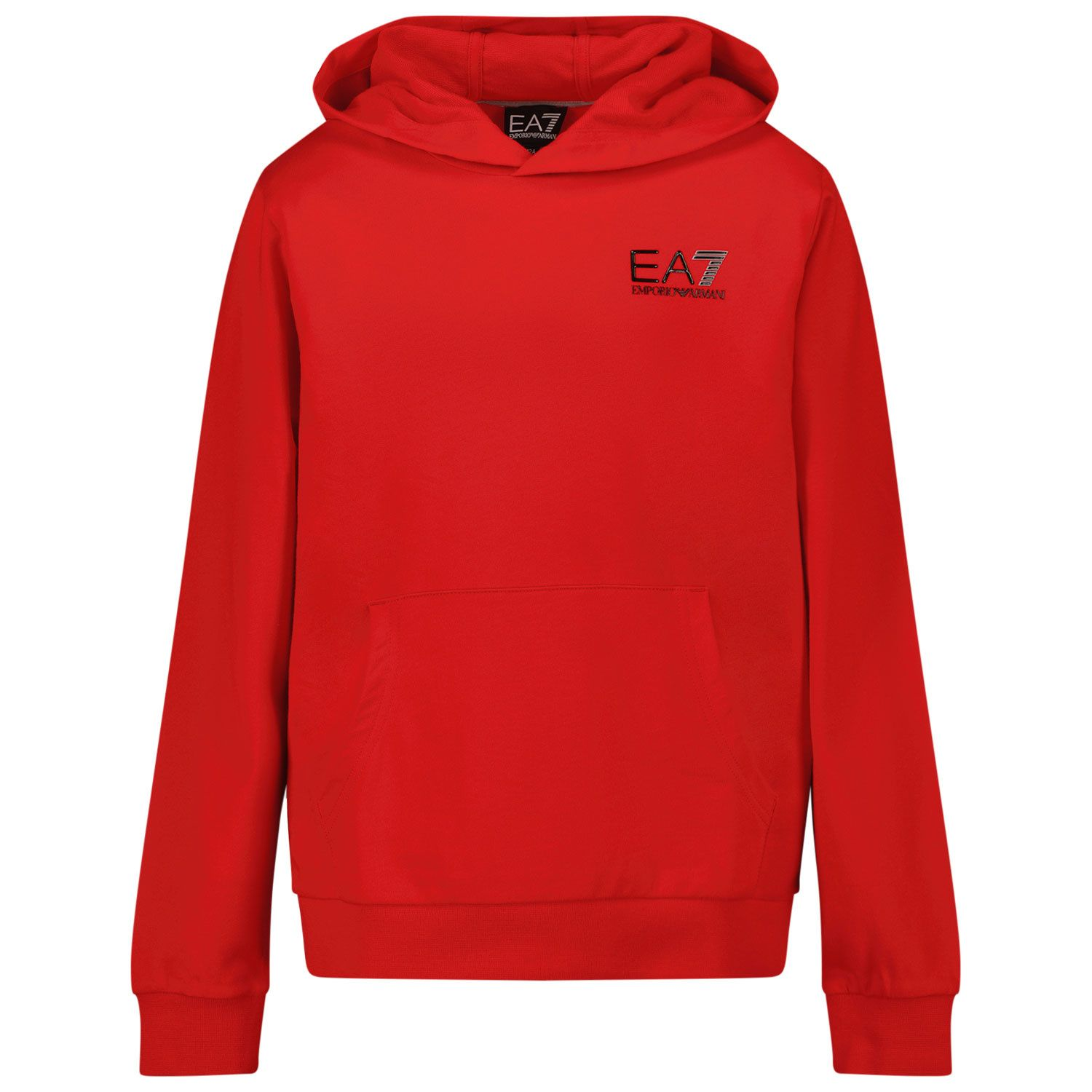 Picture of EA7 6KBM52 kids sweater red