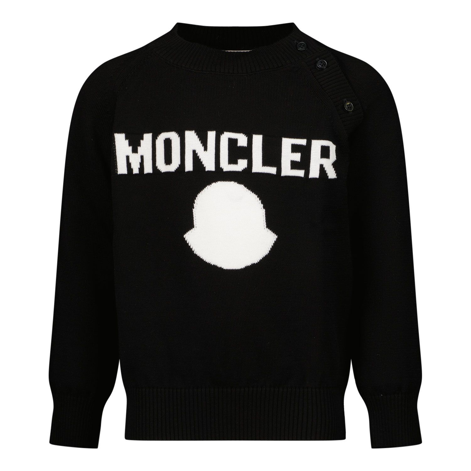 Picture of Moncler 9C70600 baby sweater black