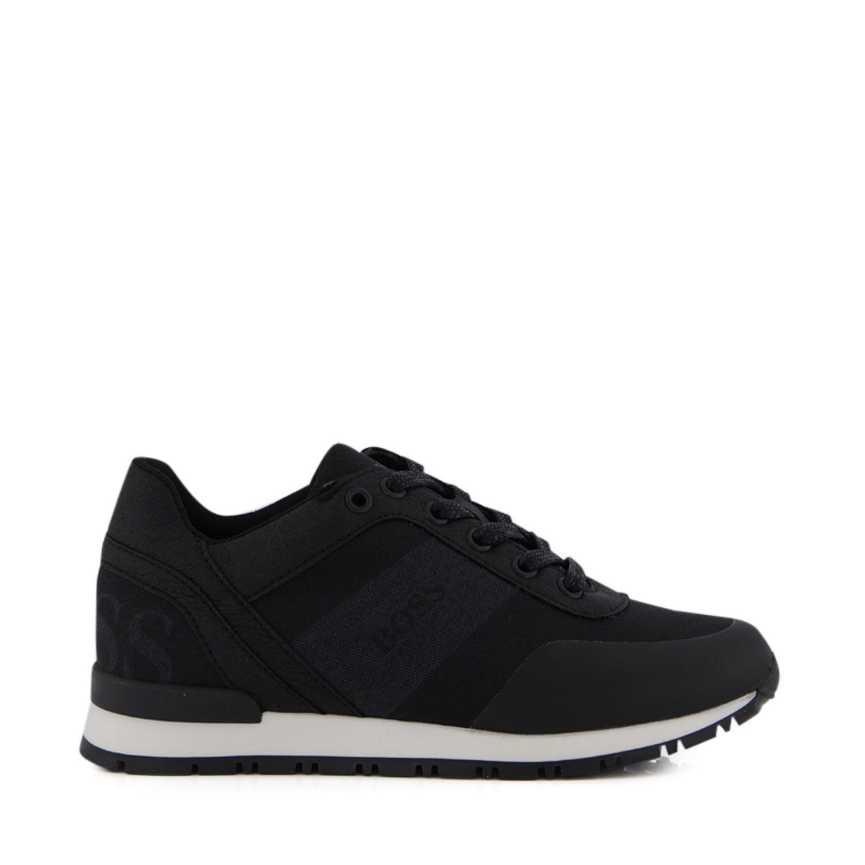 Picture of Boss J29J38 kids sneakers black