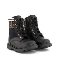 Picture of Fendi JMR330 kids boots black
