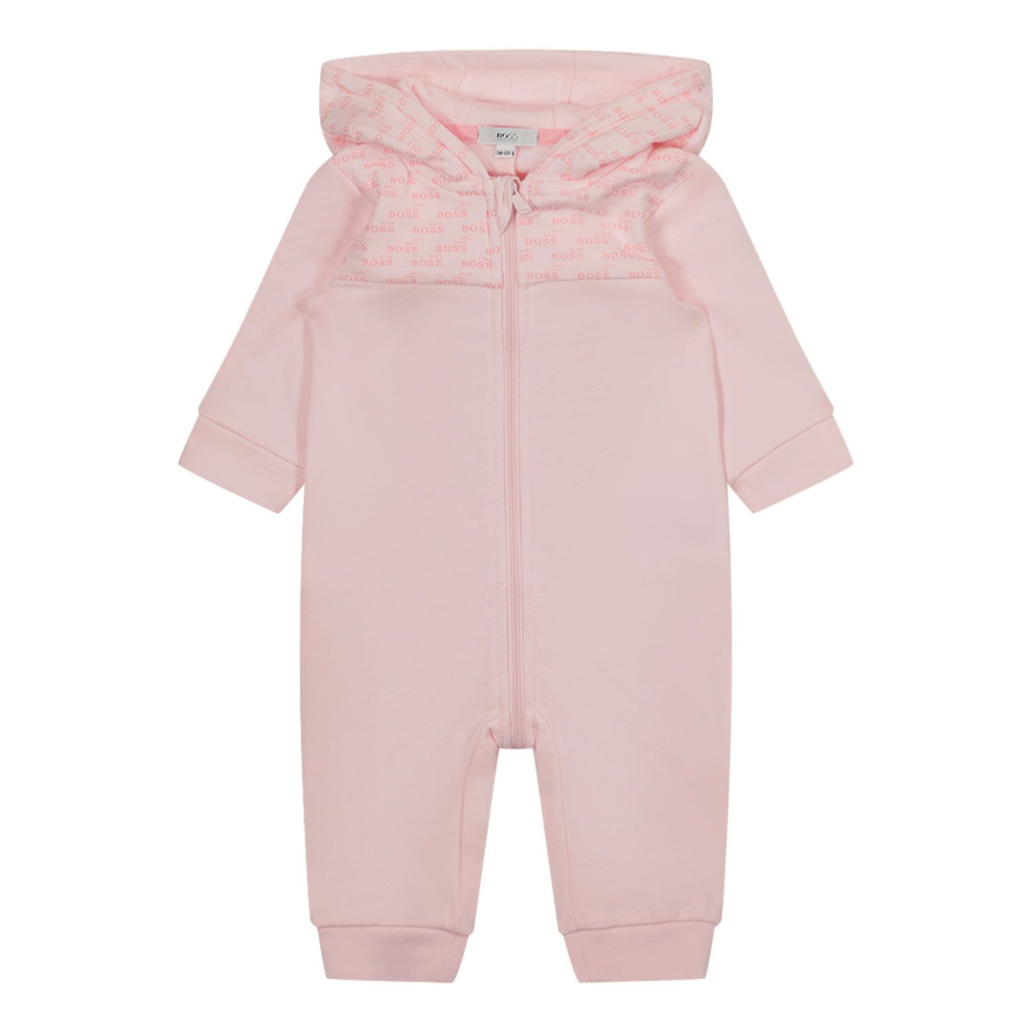 Picture of Boss J94288 baby playsuit light pink