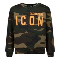 Picture of Dsquared2 DQ04DE D002W baby sweater army