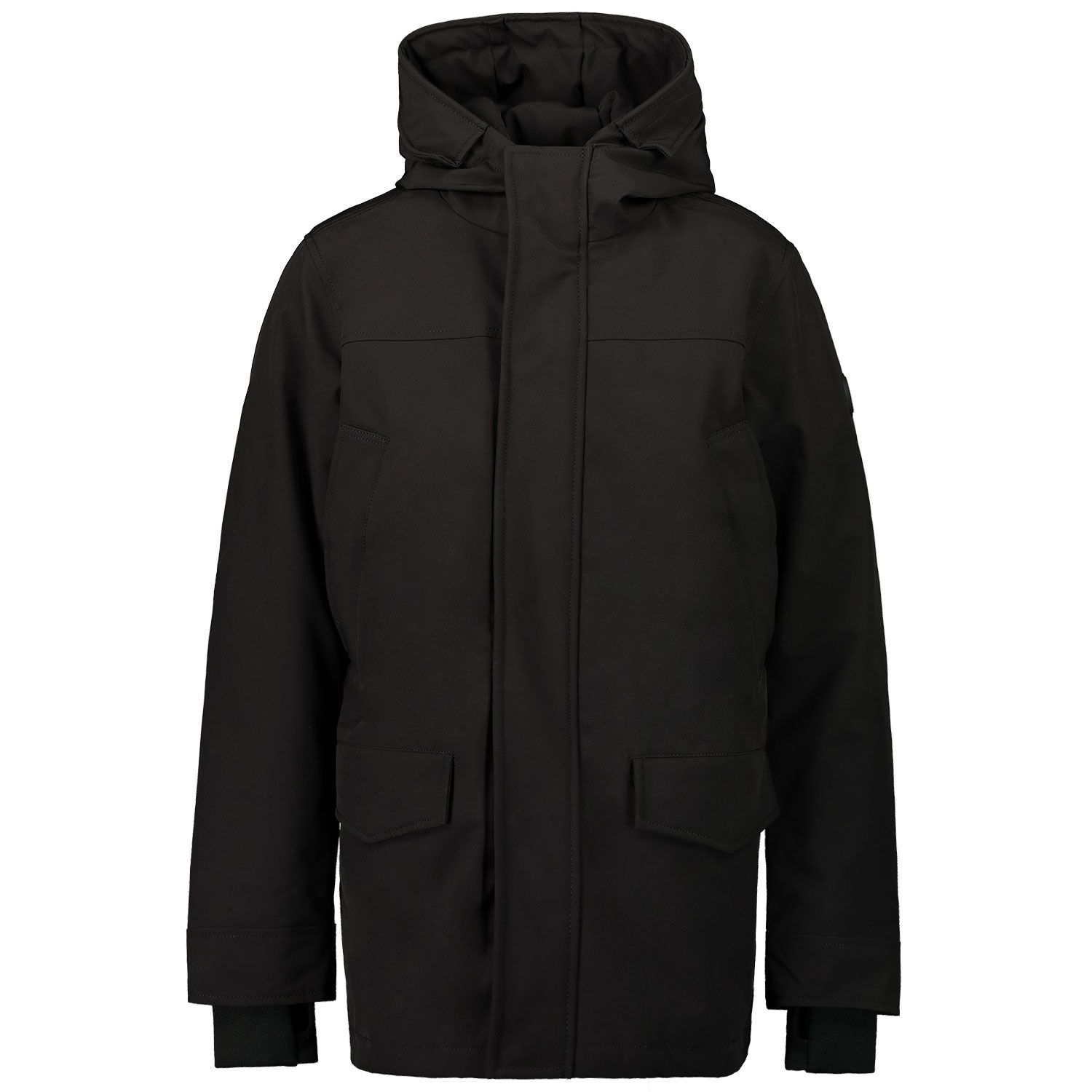 Picture of Airforce FRB0393 kids jacket black