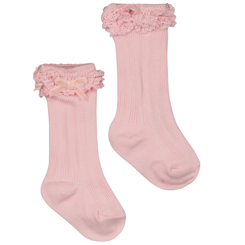 Afbeelding van Mayoral 10097 babysokjes licht roze