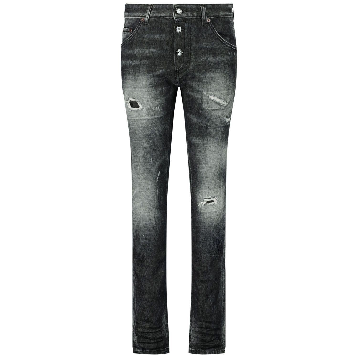 Picture of Dsquared2 DQ0234 D004Z kids jeans black