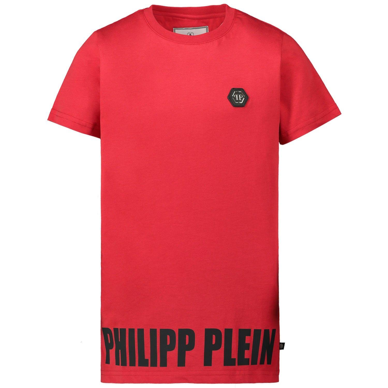 Bild von Philipp Plein BTK0901 Kindershirt Rot