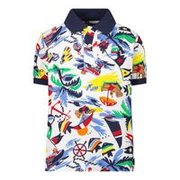 Picture of Ralph Lauren 836709 kids polo shirt white