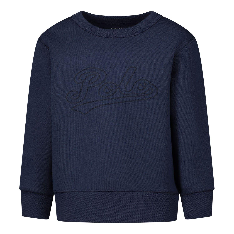 Picture of Ralph Lauren 786035 kids sweater navy