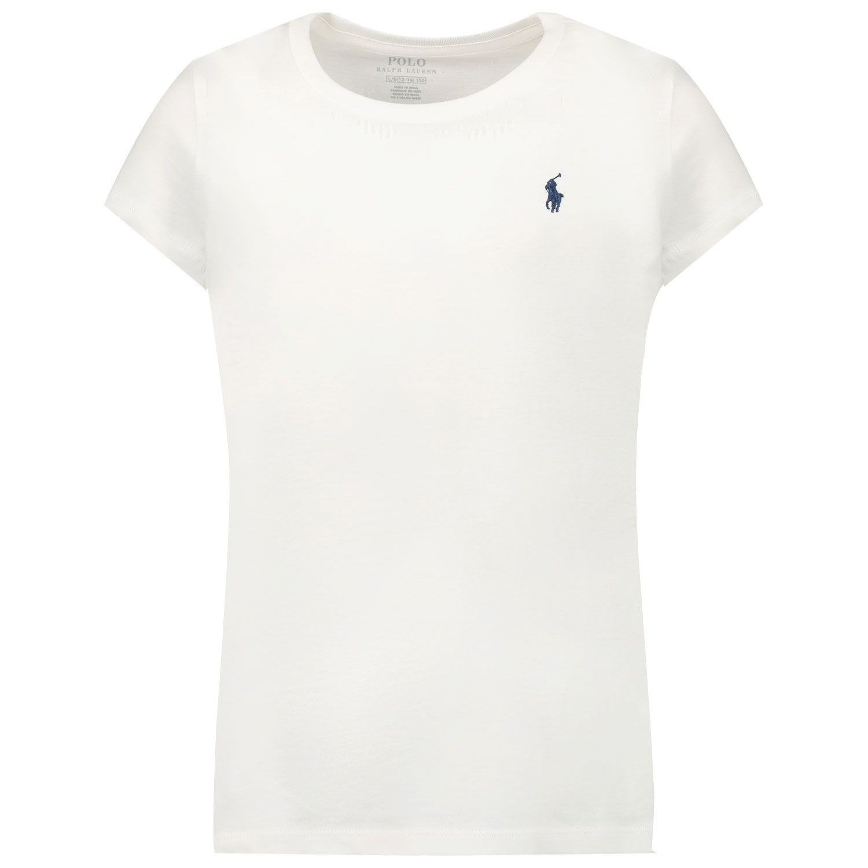 Picture of Ralph Lauren 833549 kids t-shirt white