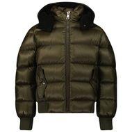 Afbeelding van Moncler 1A54L20 kinderjas donker groen