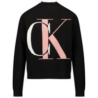 Picture of Calvin Klein IG0IG00678 kids sweater black