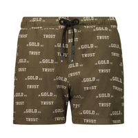 Picture of in Gold We Trust CHAIN EMBROIDERY SWIMSHORT kids swimwear green