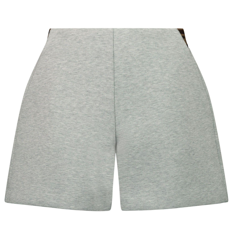 Afbeelding van Fendi JFF230 A8LG kinder shorts grijs