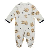 Picture of MonnaLisa 228207 baby playsuit off white