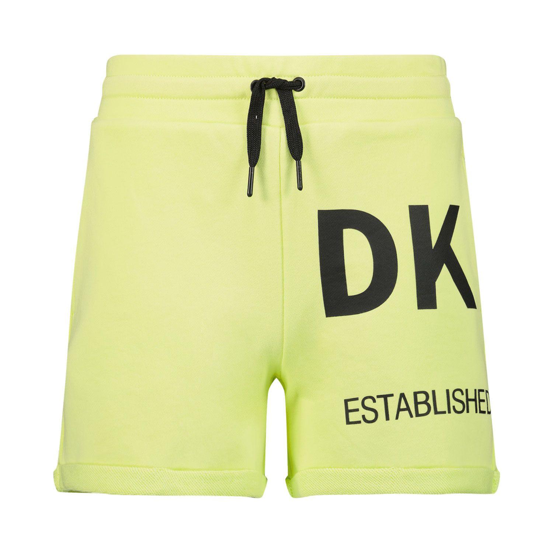 Afbeelding van DKNY D34A23 kinder shorts lime