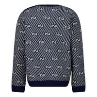 Picture of Gucci 638308 baby sweater blue