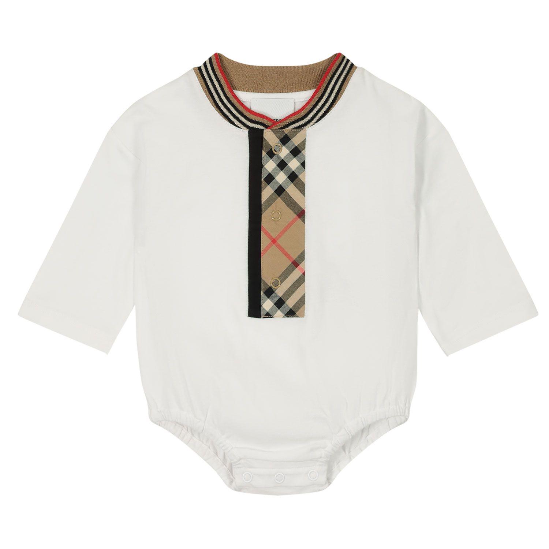 Bild von Burberry 8030380 Babystrampler Weiß