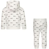 Picture of Tommy Hilfiger KN0KN01286 baby sweatsuit white