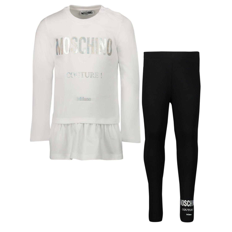 Picture of Moschino MDK01S baby set white