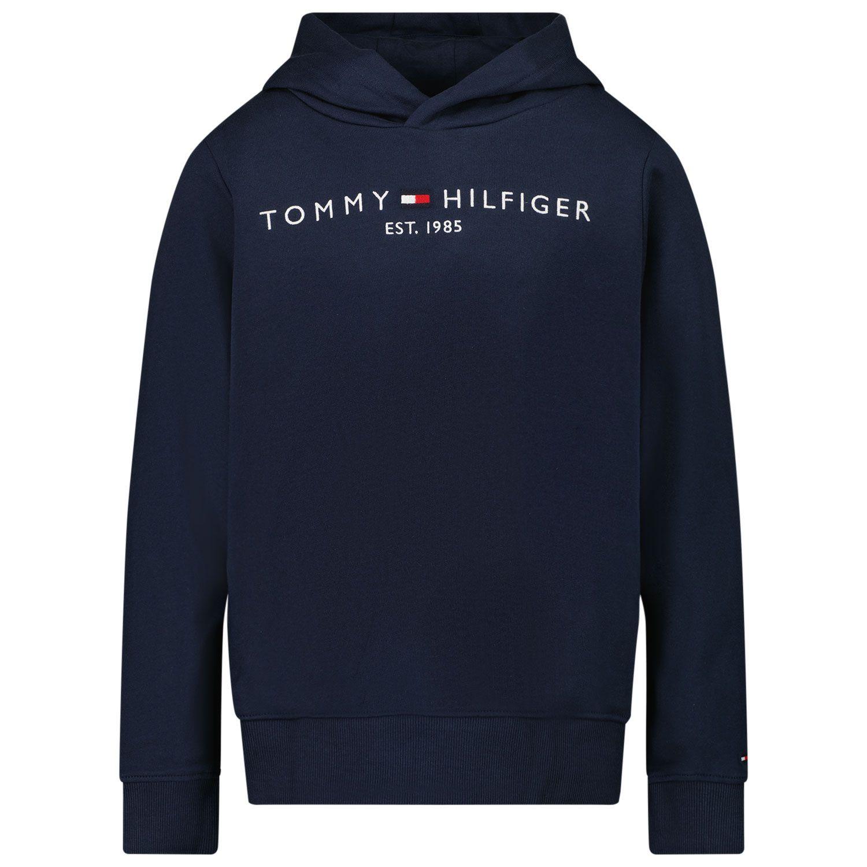 Picture of Tommy Hilfiger KB0KB05673 kids sweater navy
