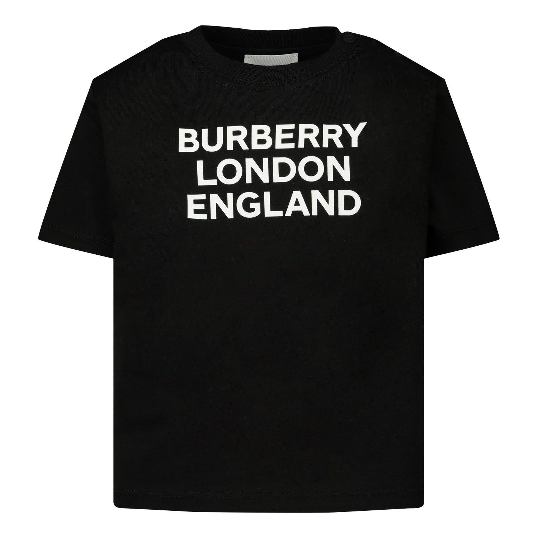 Bild von Burberry 8028812 Baby-T-Shirt Schwarz