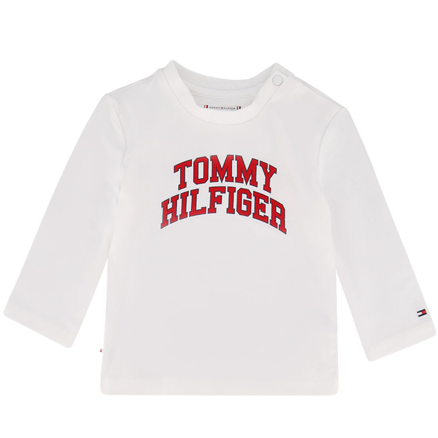 Afbeelding van Tommy Hilfiger KN0KN01156 baby t-shirt wit
