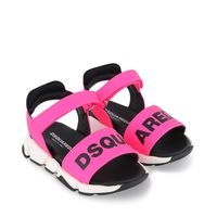 Picture of Dsquared2 66961 kids sandals fluoro pink