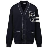 Picture of Dolce & Gabbana L4JWAQ G7A3O kids sweater navy