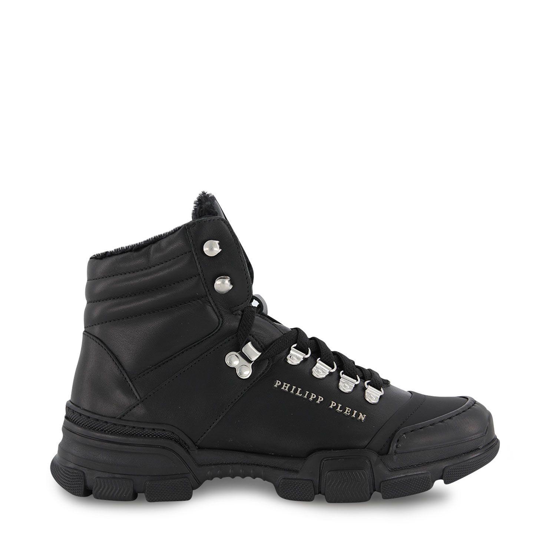 Picture of Philipp Plein BSC0221 kids shoes black
