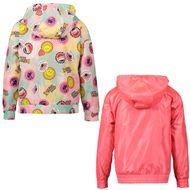 Afbeelding van Kenzo 42008 kinderjas fluor roze