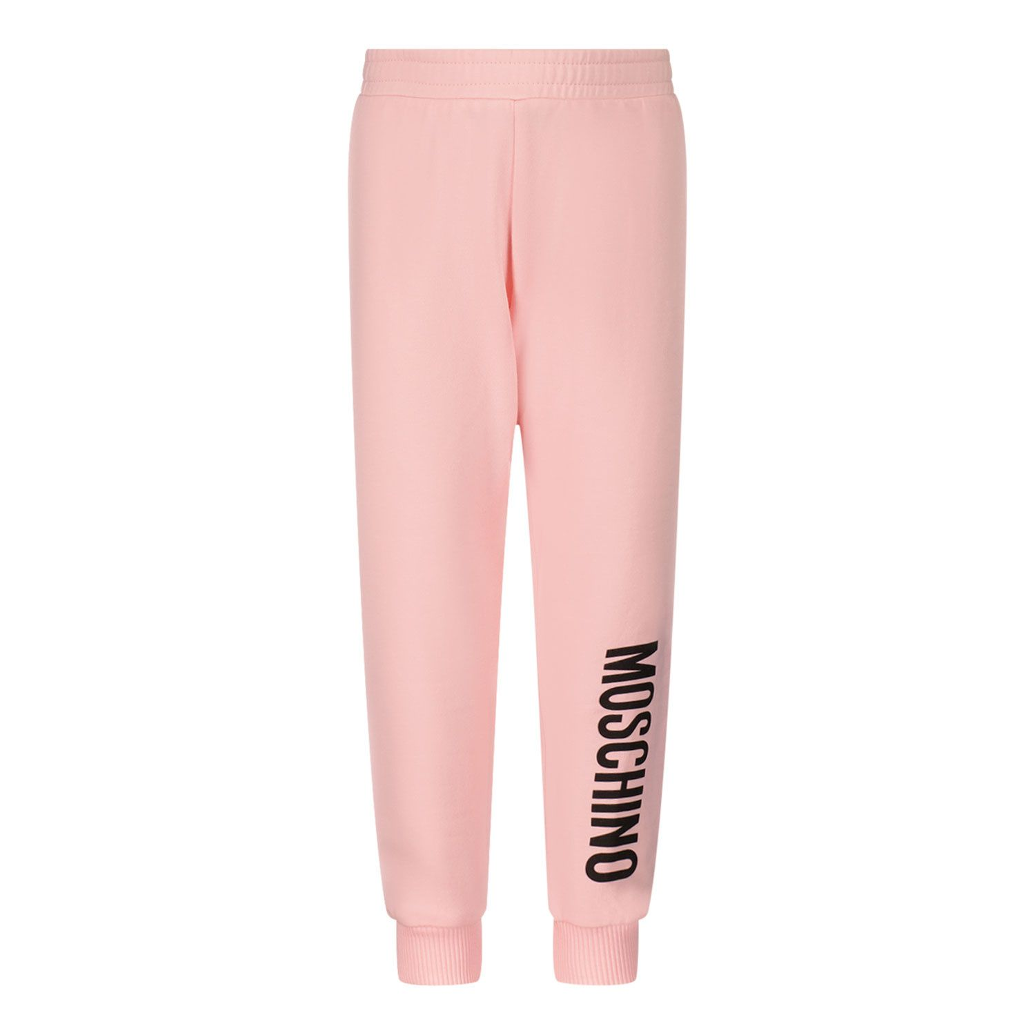Picture of Moschino MNP035 baby pants light pink
