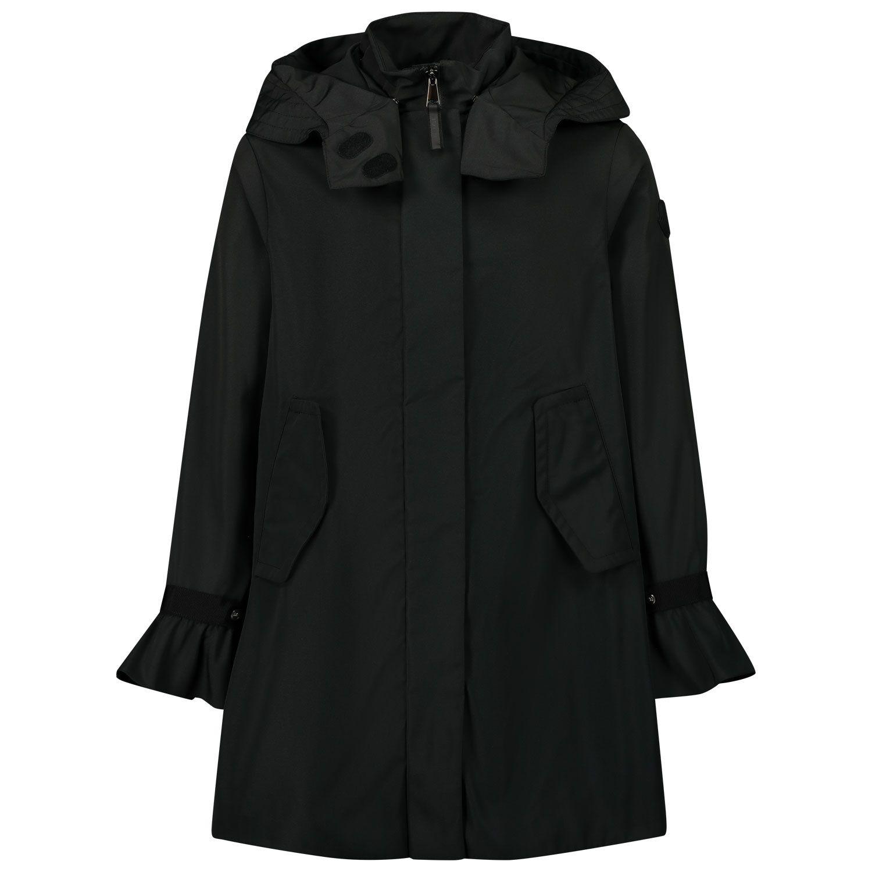 Picture of Moncler 1C71110 kids jacket black
