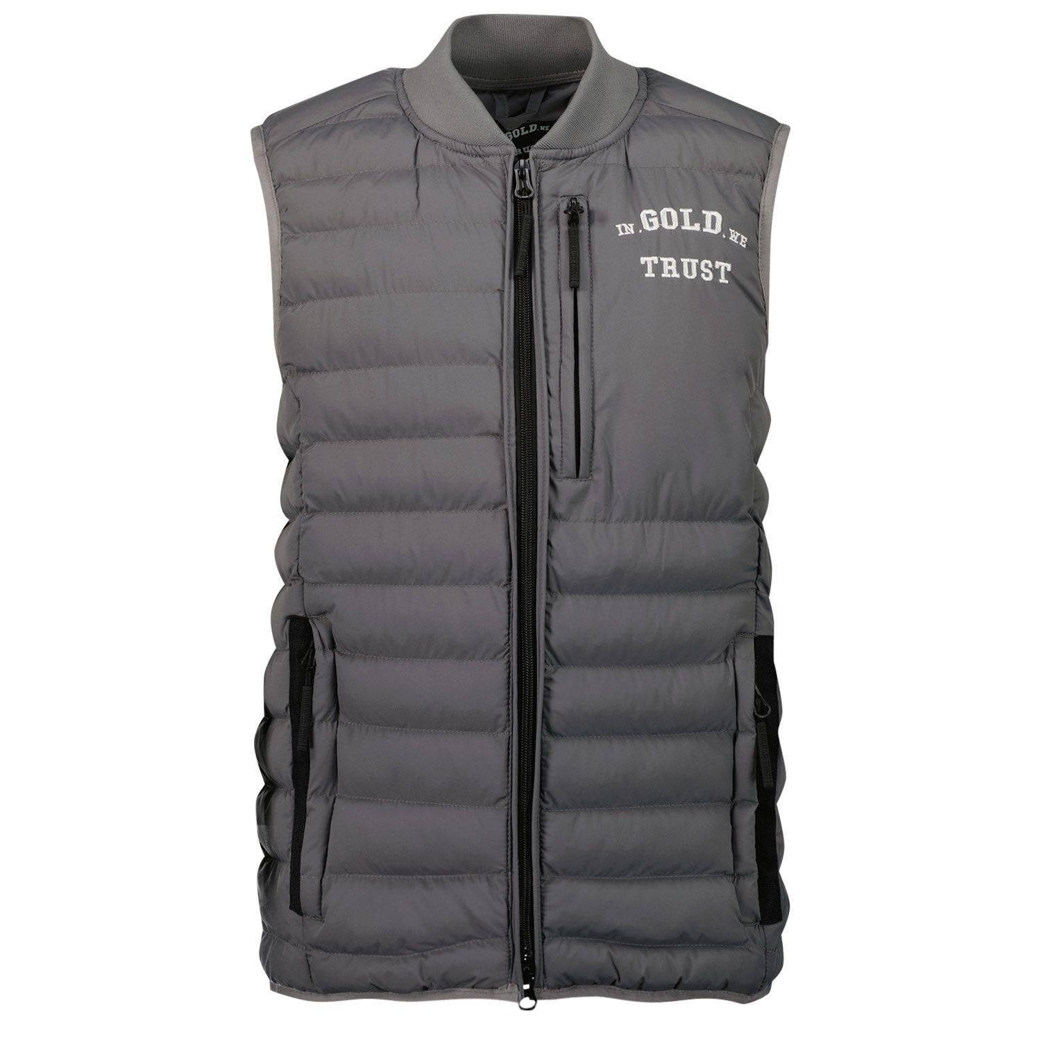 Picture of in Gold We Trust THE GLORY kids bodywarmer grey